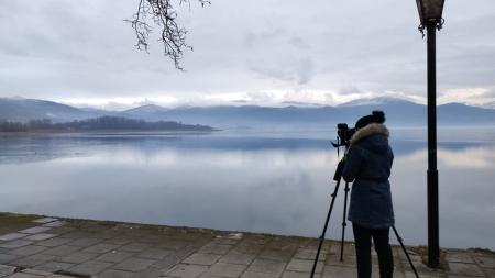 Καστοριά:  Καταμετρήσεις Υδρόβιων Πουλιών (ΜΕΚΥΠ) στην λίμνη.
