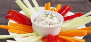 Συνταγή για δύο ντιπ έτοιμα σε 2 λεπτά -Το κόλπο με την κρεμμυδόσουπα