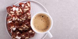 Συνταγή για μωσαϊκό σοκολάτας -Από τους κουραμπιέδες που περίσσεψαν