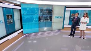 Στον «αέρα» και πάλι το Mega- Ξεκίνησε με την πρώτη ενημερωτική εκπομπή